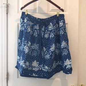 Beautiful blue skirt from The Gap